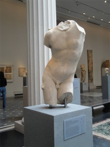 Marble torso of Eros 1st century A.D., Metropolitian Museum of Art, New York